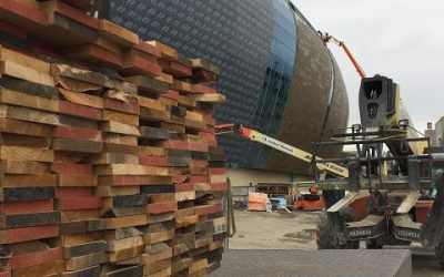 Fiserv Forum Spreads Environmental and Historical Message